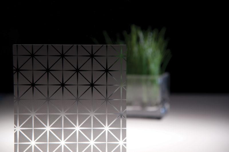 Fasara Prism And Dot Patterns Fasara Glass Finishes